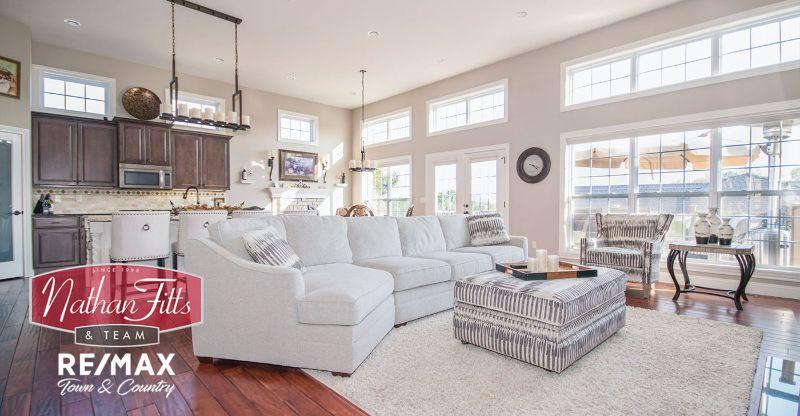 elegant home living area