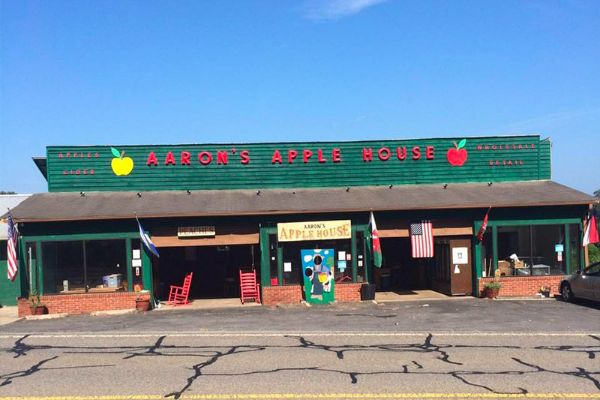 Aaron Family Orchards market